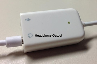 Headphone output